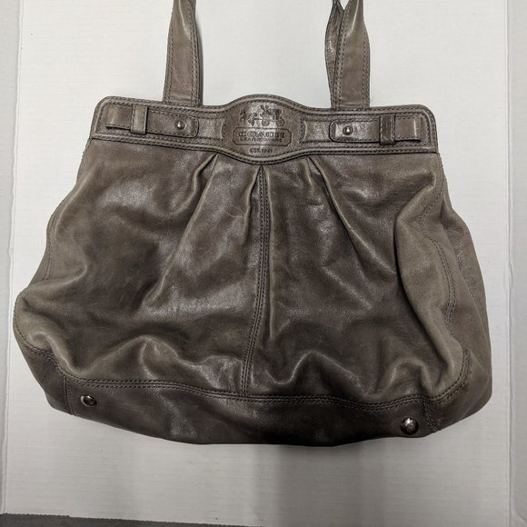 Light Brown Coach Purse